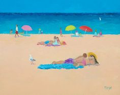 Beach decor Beach Painting beach art ocean painting