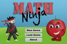 math ninja best math fact app iphone ipad pragmaticmom pragmatic mom best apps for multiplication addition subtraction math facts