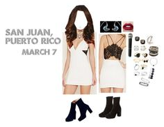 """""""San Juan, Puerto Rico - 3.7.16"""" by gfc-account ❤ liked on Polyvore featuring Forever 21, Free People, Kate Spade, Adina Reyter, Irene Neuwirth, Mudd, Amrita Singh, Wet Seal, Topshop and Judith Ripka"""