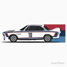 BMW 3.0 CSL with M Racing livery