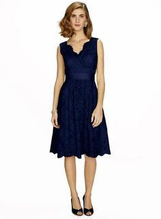 Sofia Navy Short Dress