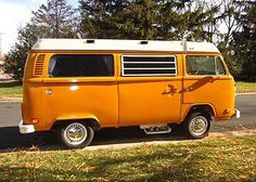 We had a camper bus just like this!