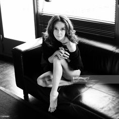 Photo d'actualité : Actress Philippine Leroy-Beaulieu is photographed...