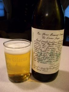 jb's pour house : : new glarus two women lager