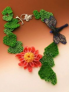 Beautiful floral beaded jewelry by Huib Petersen | Beads Magic