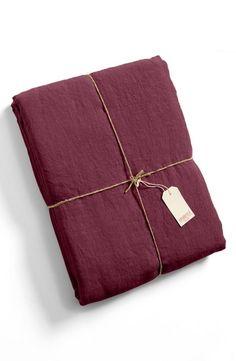 Linen Duvet Cover in 8 Fall Colors