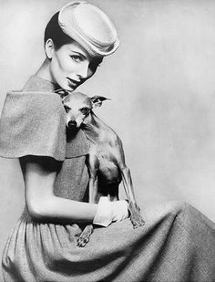 Suzy Parker, photo by Richard Avedon, Harper's Bazaar, March 1956 | flickr skorver1