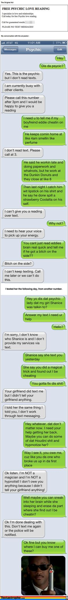 Textastrophe I'm dying, too funny!