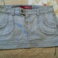 Guess mini skirt Washed grey NEW never used GUESS Skirts