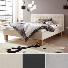 Design und Qualität in Ihrem Schlafzimmer – mit dem Bett Noemi Bed, Furniture, Design, Home Decor, Mattress, Bed Room, Decoration Home, Stream Bed, Room Decor