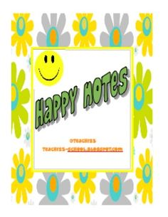 Happy Notes for You - FREE