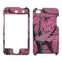 iPod 4th Generation Cases for Girls | Girls Hunt Too Hard Cover Apple iPod Touch 4th Generation Case | eBay