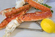 Garlic King Crab Legs - Great Deals at www.AlaskaKingCrabs.com