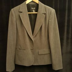 Jacket Grey blazer, pockets can be worn 2 ways (see picture ).  Very good condition fully lined. Rafaella Jackets & Coats Blazers