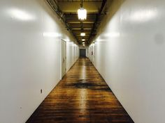 From a hallway perspective at the Bridgeport Innovation Center #Bridgeport #CT #Innovation #lofts #offices #lease #great #spaces