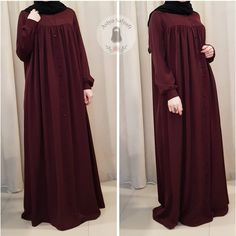 Very nice abaya Niqab Fashion, Modest Fashion Hijab, Muslim Fashion, Fashion Dresses, Hijab Style Dress, Hijab Chic, Hijab Evening Dress, Mode Abaya, Abaya Designs