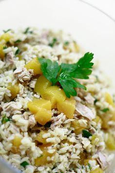 Sałatka z tuńczykiem | Tuna exotic salad