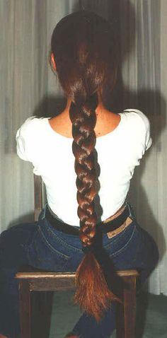 super long braid