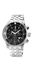 Ανδρικό Ρολόι Χρονογράφος Divers COBRA με μπρασελέ Rolex Watches, Watches For Men, Omega Watch, Silver, Accessories, Men's Watches, Money, Jewelry Accessories