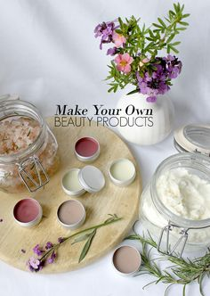 Make Your Own Body Scrub, Body Butter and Lip Balm