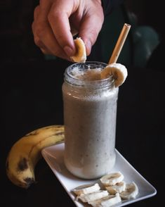 This rich, delicious smoothie starts with a yogurt, milk, and banana base for a full-bodied and creamy texture. It then pumps up the flavour with ginger, turmeric, vanilla essence, and our signature Help Drinking Chocolate along with a generous squeeze of our Hemp Honey. Finally, our Hemp Protein Powder packs in the nutrition for a satisfying breakfast or after-work treat. You'll never believe you're drinking a healthy protein boost when tasting this rich chocolatey blend! Natural Protein Shakes, Organic Recipes, Vegan Recipes, Ice Cube Recipe, Hemp Protein Powder, Protein Pudding, Muesli Bars, Banana Milkshake, Healthy Protein