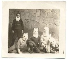 Back in the day, kids just did not get the concept of masks and how to match them up to a costume. Actually, some of them bypassed the masks all together and fashioned creepy Halloween costumes out of sheets that ended up looking like assorted versions of Ku Klux Klan inspired animals and public fi...
