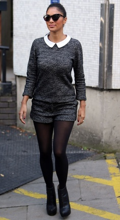 Picture of Nicole Scherzinger Street Look, Street Style, Nicole Scherzinger, Edgy Look, Celebs, Celebrities, Beautiful Models, What To Wear, Tights