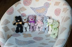 Amigurumi die kleinen Teddybär  In Englisch von TinyAmigurumi