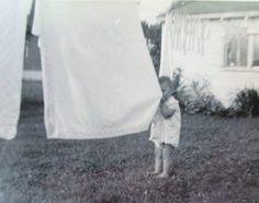 security blanket on clothesline
