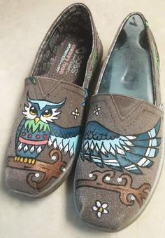 If you own a pair of shoes that need a personal touch or a favorite theme, I'll paint it on AND seal it for ONLY $40! :) Can be anything! (If you do not provide the shoe, pricing changes to $75-$85 range)