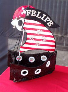 Festa do Pirata - imagine ele cheiinho de doces.