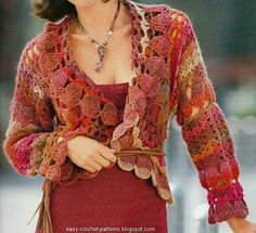 Elegant Crochet Cardigan