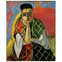MATISSE - Woman with a veil 60x73 cm #artprints #interior #design #Matisse Scopri Descrizione e Prezzo http://www.artopweb.com/autori/henri-matisse/EC21698