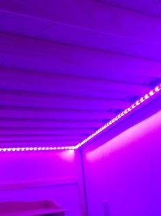 Led Room Lighting, Strip Lighting, Led Bedroom Lights, Lighting Ideas, Cool Lights For Bedroom, Lights For Room, Lighting Design, Room Lights Decor, Club Lighting