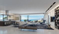 Smoking Hot Penthouse Interior Designs [Visualized]