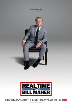 Return to the main poster page for Real Time with Bill Maher
