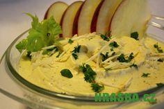 Pomazánka z HRAŠKY, celeru a jablek Hummus, Mashed Potatoes, Ethnic Recipes, Food, Whipped Potatoes, Smash Potatoes, Essen, Meals, Yemek