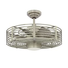 """Kendal Lighting 23"""" Enclave 7 Blade Ceiling Fan with Wall Remote - $400"""