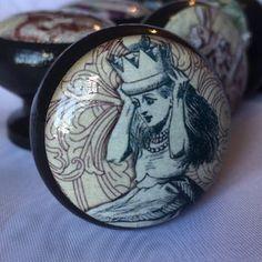 Alice In Wonderland Mortice Door Drawer Cabinet Knob