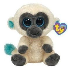 *Ty Beanie Boos*  Type: Monkey Name: Bananas Birthday:  Introduced:  Retired:
