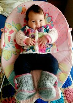 Chaleco bebé Modelo: Paz Rivadeneira
