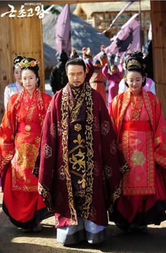 Paekche Doubles / Baek King, Queen's Doubles: Blog de Naver Korean Traditional Dress, Traditional Dresses, Woo Sung, Asian, Culture, Actresses, Actors, Costumes, Drama Movies