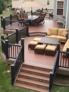 Gorgeous wodden deck porch design ideas (35)