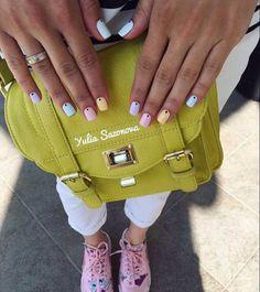 Accurate nails, Beautiful nail colors, Bright summer nails, Everyday nails…