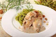 Przepis na Pierś z kurczaka w sosie Meat, Chicken, Food, Meals, Cubs