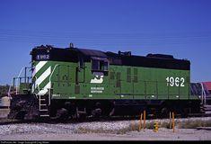 RailPictures.Net Photo: BN 1962 Burlington Northern Railroad EMD GP9 at Casper, Wyoming by Craig Walker