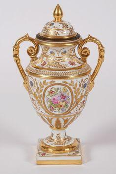 Lot # : 251 - Sèvres Painted Porcelain Urn
