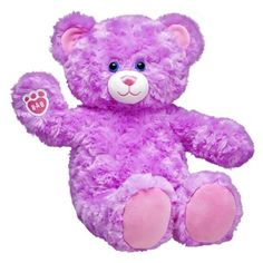 Online Exclusive Lavender Cuddles Teddy