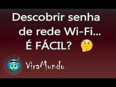 Descobrir senha de rede Wi-Fi - É FÁCIL? - YouTube