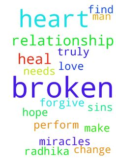 Lord, I pray that you can help my broken relationship. - Lord, I pray that you can help my broken relationship. I hope that you can heal Radhika heart and find the love that she truly has for me. Lord, I pray that you change me and make me the man that she needs. Only you lord can perform miracles. Only you can heal her broken heart. Lord I ask that you forgive me for all of my sins. Posted at: https://prayerrequest.com/t/3tj #pray #prayer #request #prayerrequest